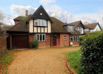 Thumbnail 4 bed detached house for sale in Turnoak Avenue, Hook Heath, Woking