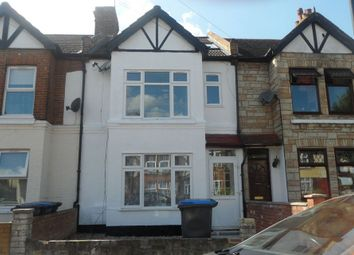 Thumbnail 4 bed terraced house to rent in Mayfield Road, Enfield