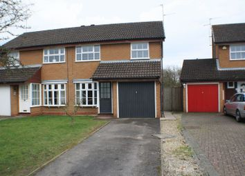 Thumbnail 3 bed semi-detached house to rent in Vickers Close, Woodley, Reading