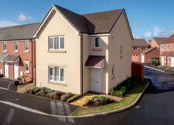 Thumbnail 3 bed detached house for sale in Hob Close, Monkton Heathfield, Taunton
