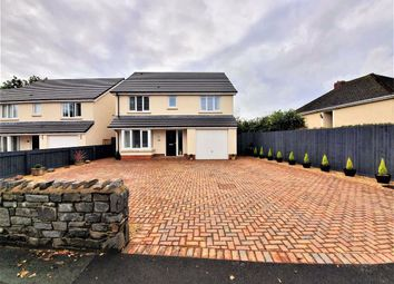 Thumbnail 4 bed detached house for sale in Coalbrook Road, Swansea