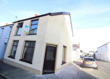 Thumbnail 3 bed end terrace house to rent in Wellington Street, Pembroke Dock