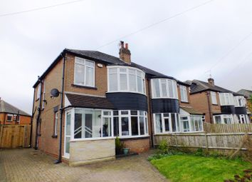 Thumbnail 3 bed semi-detached house for sale in Shadwell Walk, Moortown, Leeds