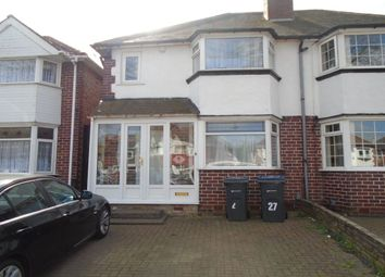 Thumbnail 3 bed semi-detached house for sale in Allendale Road, Yardley, Birmingham