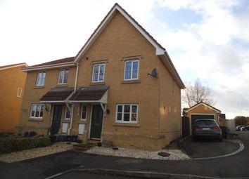 Thumbnail 3 bed semi-detached house to rent in Spring Meadows, Trowbridge, Trowbridge, Wiltshire
