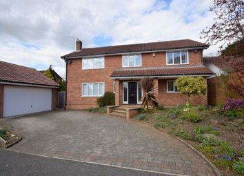 Thumbnail 4 bed detached house to rent in Stanley Close, (Off Duffield Road), Derby