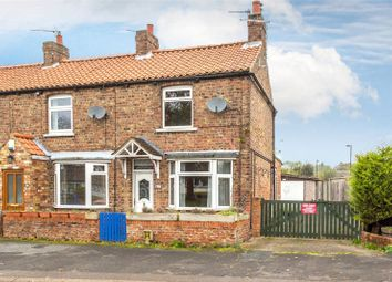 Thumbnail 2 bed end terrace house for sale in Southfields Road, Strensall, York