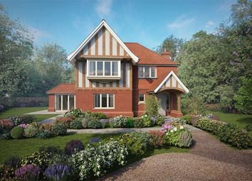 Thumbnail 4 bed detached house for sale in Thorn Road, Wrecclesham, Farnham