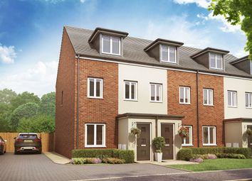 "Thumbnail 3 bed terraced house for sale in ""The Souter "" at Christie Drive, Hinchingbrooke Park Road, Huntingdon"