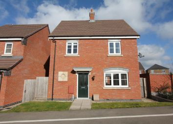 Thumbnail 3 bed detached house for sale in Outlands Drive, Hinckley