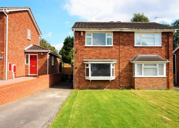 Thumbnail 2 bed semi-detached house for sale in Meadow Lane, Newhall, Swadlincote