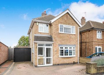 Thumbnail 3 bed detached house for sale in Moorgate Avenue, Birstall, Leicester, Leicestershire