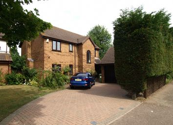 Thumbnail 4 bed detached house for sale in Tabard Gardens, Newport Pagnell, Buckinghamshire
