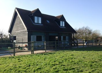 Thumbnail 1 bed flat to rent in Shingay Road, Steeple Morden, Nr Royston, Hertfordshire