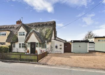Thumbnail 2 bed semi-detached house for sale in The Causeway, Hitcham, Ipswich