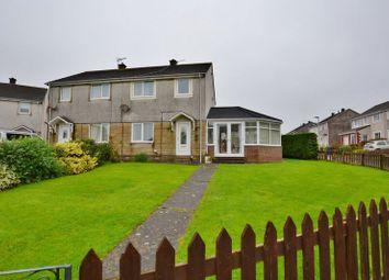 Thumbnail 3 bed semi-detached house for sale in Kelsick Park, Seaton, Workington