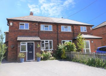 Thumbnail 4 bed semi-detached house for sale in Station Road, Cholsey, Wallingford