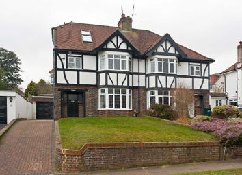 Thumbnail 4 bed semi-detached house to rent in Park View Road, Hove