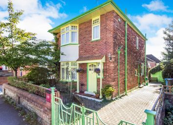 Thumbnail 3 bed detached house for sale in Palmerston Road, Parkstone, Poole