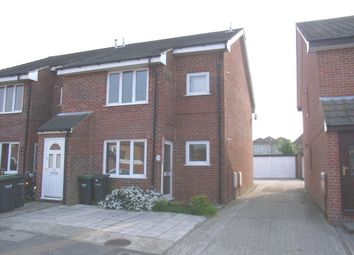 Thumbnail 2 bedroom flat to rent in Thamesmead Close, Gosport