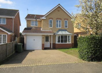 Thumbnail 4 bed detached house to rent in Cholmondeley Way, West Winch