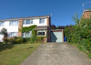 Thumbnail 3 bed semi-detached house to rent in Maltward Avenue, Bury St. Edmunds