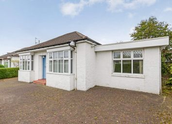 Thumbnail 3 bed detached bungalow for sale in 4 Lawrence Avenue, Giffnock