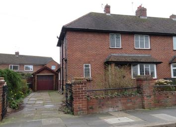 Thumbnail 2 bed semi-detached house for sale in Warwick Road, Carlisle, Cumbria