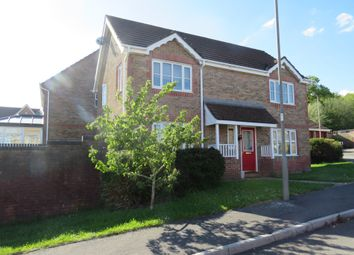 Thumbnail 4 bed detached house for sale in Beech Wood Drive, Tonyrefail, Porth