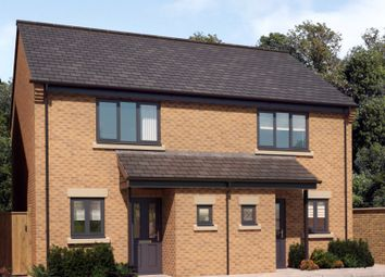 Thumbnail 2 bed semi-detached house for sale in Off Ashby Street, Priors Hall, Weldon, Corby