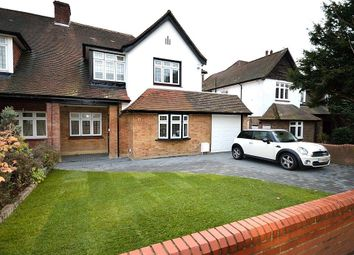 Thumbnail 5 bed semi-detached house for sale in Bourne Avenue, Southgate