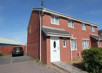 Thumbnail 3 bed semi-detached house for sale in Cwrt Gwenllian, Barry