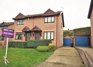 Thumbnail 2 bed semi-detached house for sale in Deepdale Road, Bolsover, Chesterfield