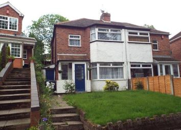 Thumbnail 2 bed semi-detached house for sale in Courtenay Road, Kingstanding, Birmingham, West Midlands