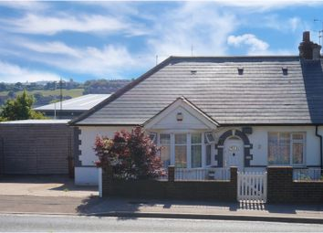 Thumbnail 2 bed semi-detached bungalow for sale in Cuxton Road, Strood, Rochester