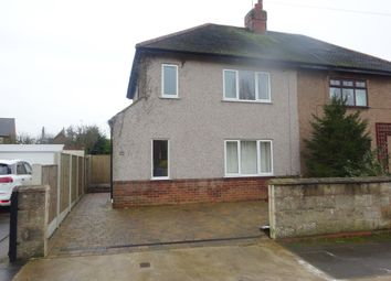 Thumbnail 3 bed semi-detached house to rent in Perlethorpe Avenue, Mansfield