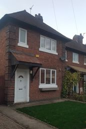 Thumbnail 2 bed semi-detached house to rent in Carlyle Street, Sinfin, Derby