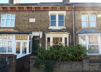 Thumbnail 2 bedroom terraced house for sale in Oundle Road, Peterborough, Cambs, .