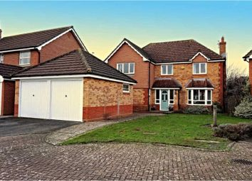 Thumbnail 4 bed detached house for sale in Crythan Walk, Cheltenham
