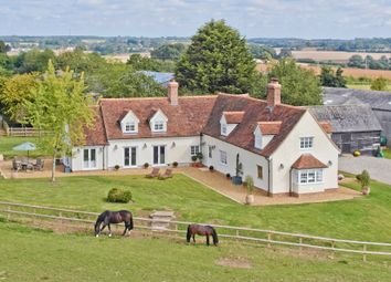 Thumbnail 5 bed farmhouse for sale in West View, Water Lane, Radwinter, Saffron Walden