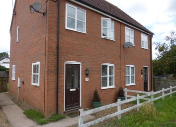 Thumbnail 3 bed semi-detached house to rent in Lawrences Lane, Hilgay, Downham Market