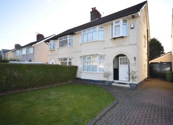 Thumbnail 3 bed semi-detached house for sale in Raeburn Avenue, Eastham, Wirral
