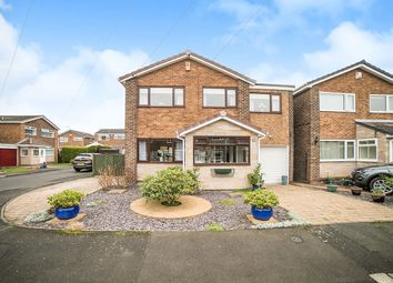 Thumbnail 4 bed detached house for sale in Meldon Court, Crawcrook, Ryton