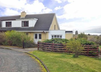 Thumbnail 2 bed semi-detached house for sale in Kirk Brae, Lochaline