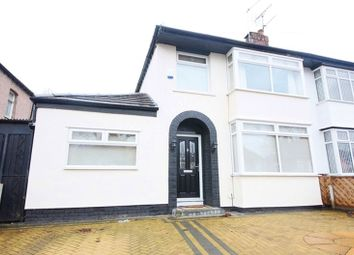 Thumbnail 3 bed semi-detached house for sale in Score Lane, Childwall, Liverpool L16.