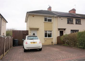 Thumbnail 2 bed end terrace house for sale in Linwood Road, Dudley
