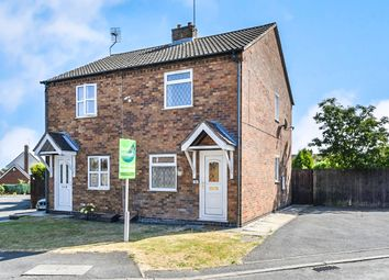 Thumbnail 2 bed semi-detached house for sale in Finch Close, Woodville, Swadlincote