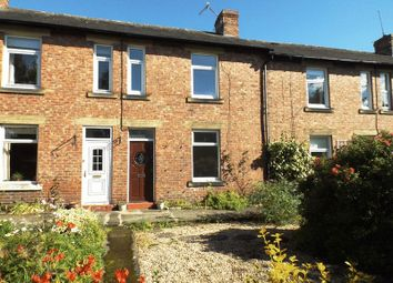 Thumbnail 3 bed terraced house for sale in Burnside, Morpeth