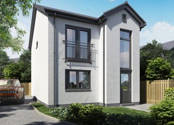 Thumbnail 3 bed detached house for sale in Kinloch Court, Alexandria