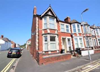 Thumbnail 3 bed end terrace house for sale in Tewkesbury Street, Cathays, Cardiff